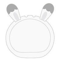 Goods Supplies - Omanjuu Niginigi Mascot Kigurumi Case (うさぎ シュガー きぐるみケース)