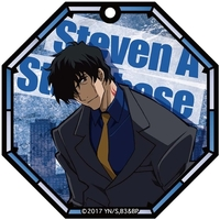 Trading Acrylic Key Chain - Blood Blockade Battlefront / Steven A Starphase