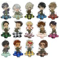 (Full Set) Acrylic stand - Yuri!!! on Ice