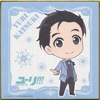 Illustration Panel - Yuri!!! on Ice / Katsuki Yuuri