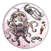 Badge - Danganronpa V3 / Iruma Miu