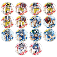 (Full Set) Acrylic Badge - Yowamushi Pedal