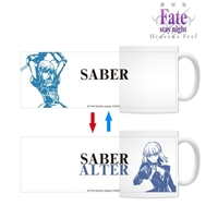 Mug - Fate/stay night / Saber & Caster & Saber Alter