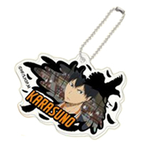 Acrylic Key Chain - Haikyuu!! / Karasuno High School & Kageyama