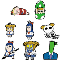 (Full Set) Patch - Poputepipikku (Pop Team Epic) / Pipimi & Popuko
