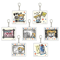 (Full Set) Acrylic Key Chain - Poputepipikku (Pop Team Epic) / Pipimi & Popuko