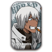 Marukaku Badge - Blood Blockade Battlefront / Zap Renfro