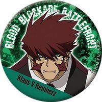 Trading Badge - Blood Blockade Battlefront / Klaus V Reinhertz