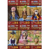 (Full Set) World Collectable Figure - ONE PIECE / Cavendish & Luffy & Rebecca & Bartolomeo