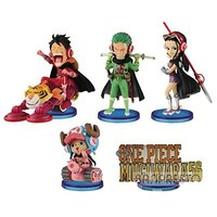 World Collectable Figure - ONE PIECE / Zoro & Luffy & Robin & Chopper