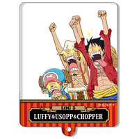 Illustration Panel (acrylic) - ONE PIECE / Luffy & Chopper & Usopp