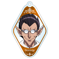 Trading Acrylic Key Chain - Overlord / Demiurge