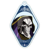 Trading Acrylic Key Chain - Overlord / Ainz Ooal Gown