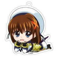 Acrylic Key Chain - Magical Girl Lyrical Nanoha / Yagami Hayate