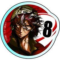 Acrylic Badge - All Out!! / Sekizan Takuya