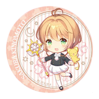 Trading Badge - Card Captor Sakura / Kinomoto Sakura