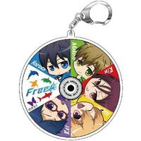 Acrylic Key Chain - Free! (Iwatobi Swim Club)