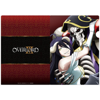 Plastic Folder - Overlord / Ainz Ooal Gown & Albedo