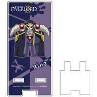 Acrylic stand - Smartphone Stand - Overlord / Ainz Ooal Gown