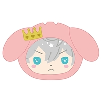 Goods Supplies - Omanjuu Niginigi Mascot Kigurumi Case - My Melody / Sena Izumi & Knights