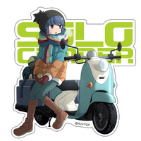 Stickers - Yuru Camp / Shima Rin