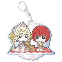 Big Key Chain - The Ancient Magus' Bride / Silky & Hatori Chise