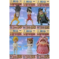 (Full Set) World Collectable Figure - ONE PIECE / Sanji & Luffy & Charlotte Pudding