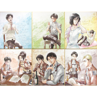 (Full Set) Illustration Panel - Shingeki no Kyojin