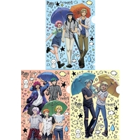 (Full Set) Plastic Folder - Binan Koukou Chikyuu Boueibu HAPPY KISS!