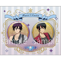 Badge - Star-Mu (High School Star Musical) / Toraishi Izumi & Kuga Shu