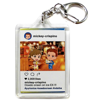 Acrylic Key Chain - Yuri!!! on Ice / Makkachin