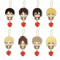 (Full Set) Key Chain - Shingeki no Kyojin