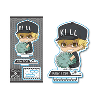Gyugyutto - Acrylic stand - Hataraku Saibou (Cells at Work!) / Killer T Cell