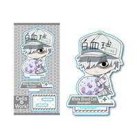 Gyugyutto - Acrylic stand - Hataraku Saibou (Cells at Work!) / White Blood Cell