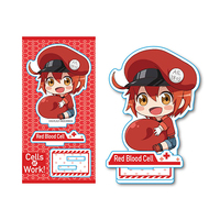 Gyugyutto - Acrylic stand - Hataraku Saibou (Cells at Work!) / Red Blood Cell (AE3803)
