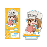 Gyugyutto - Acrylic stand - Hataraku Saibou (Cells at Work!) / Platelet