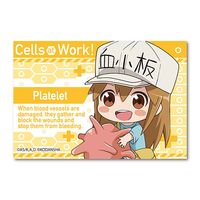 Gyugyutto - Hataraku Saibou (Cells at Work!) / Platelet