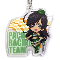 Key Chain - GIRLS-und-PANZER / Anglerfish Team & Hana