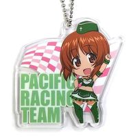 Key Chain - GIRLS-und-PANZER / Anglerfish Team & Miho