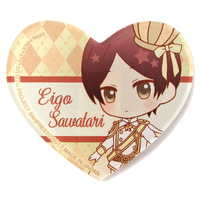 Acrylic Badge - Star-Mu (High School Star Musical) / Sawatari Eigo (Star-Mu)