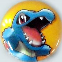 Badge - Pokémon / Totodile