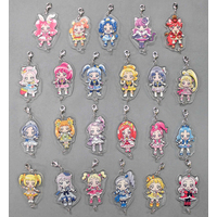 (Full Set) Acrylic Charm - HappinessCharge Precure!