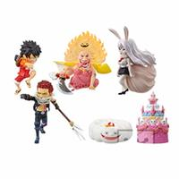World Collectable Figure - ONE PIECE / Luffy & Katakuri Charlotte