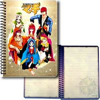 Notebook - Magi / Aladdin