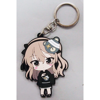 Rubber Key Chain - GIRLS-und-PANZER / Shimada Arisu