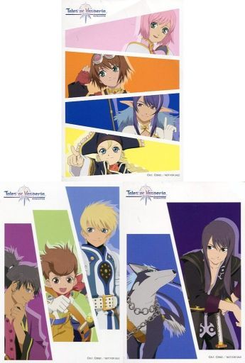 (Full Set) Postcard - Tales of Vesperia