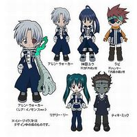 Trading Figure - D.Gray-man / Lenalee Lee
