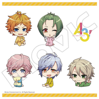 Stickers - A3! / Spring Troupe & Summer Troupe
