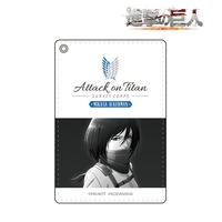 Commuter pass case - Shingeki no Kyojin / Mikasa Ackerman