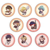 (Full Set) Badge - Senjuushi : the thousand noble musketeers